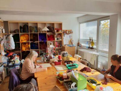 Kunsthandwerkliche Werkstatt